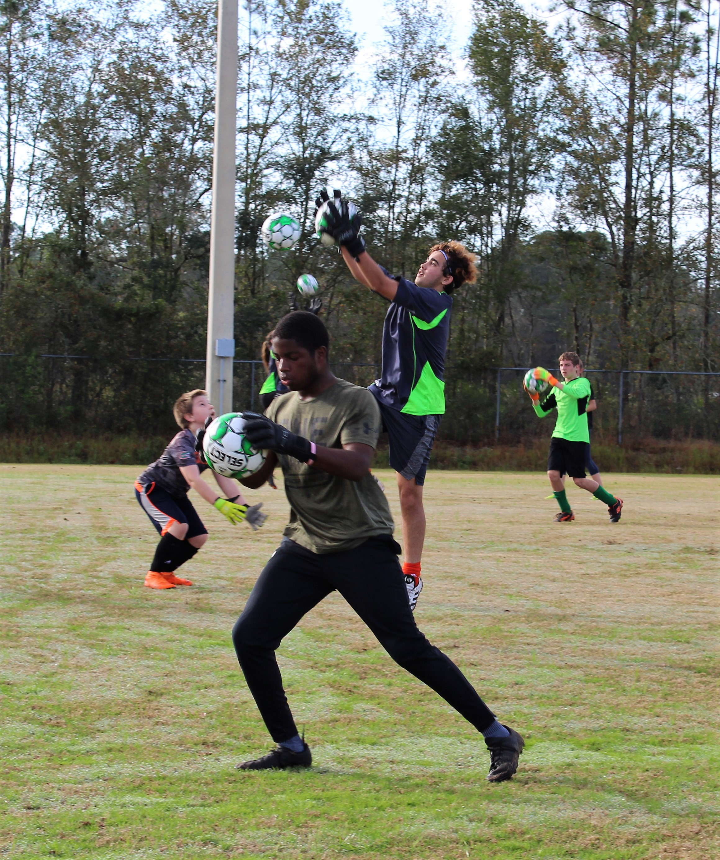 Zee Goalkeeper Camps, Clinics and training events
